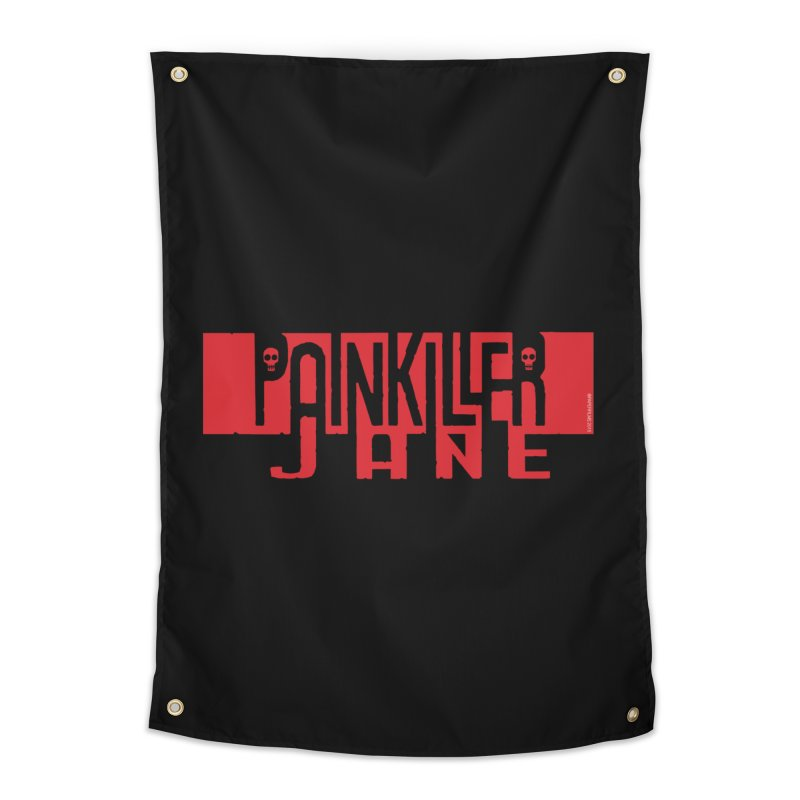 Painkiller Jane - Amanda Conner  (Red Logo)   by PaperFilms's Artist Shop