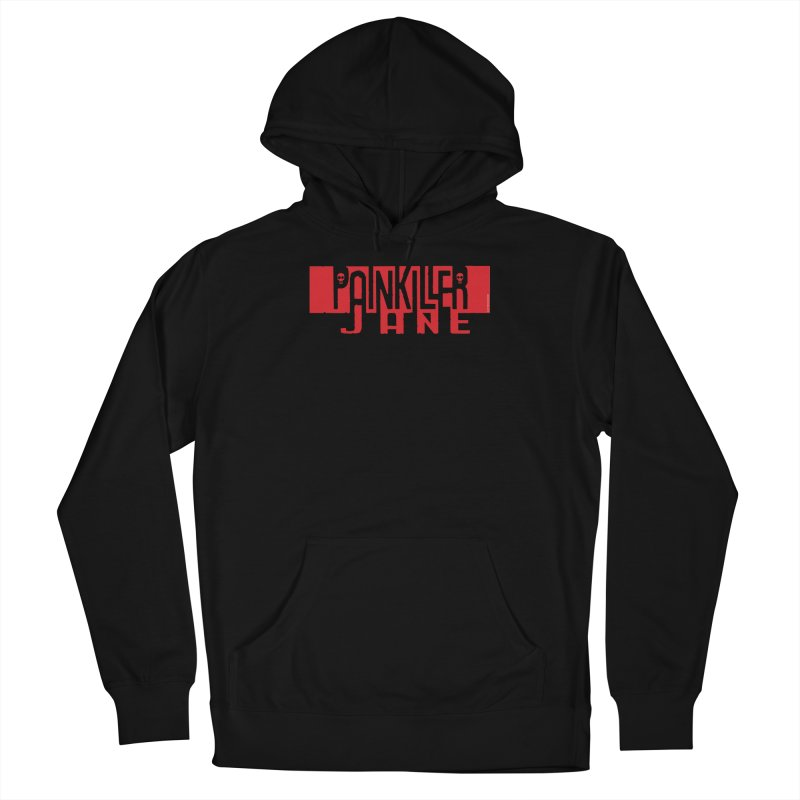 Painkiller Jane - Amanda Conner  (Red Logo) Men's French Terry Pullover Hoody by Paper Films