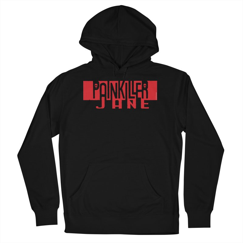 Painkiller Jane - Amanda Conner  (Red Logo) Women's French Terry Pullover Hoody by PaperFilms's Artist Shop