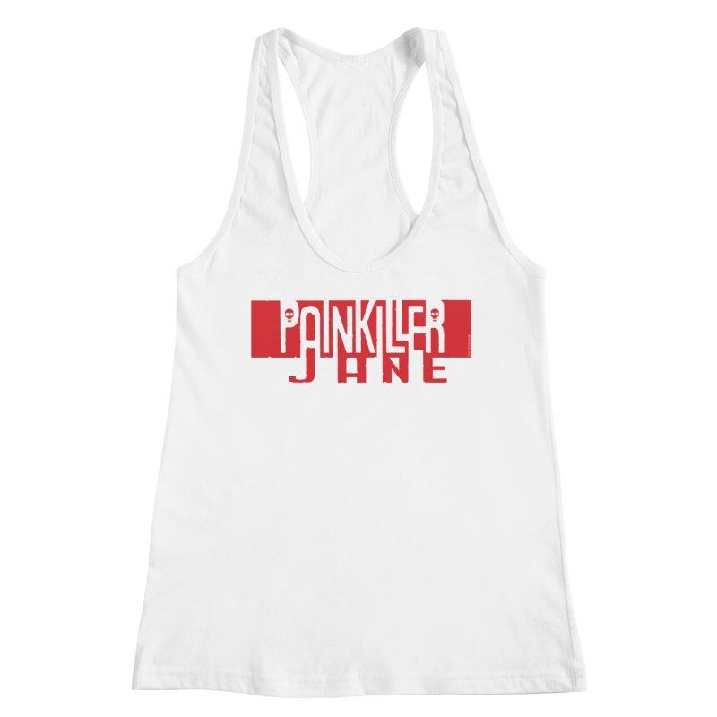 Painkiller Jane - Amanda Conner  (Red Logo) Women's Tank by Paper Films