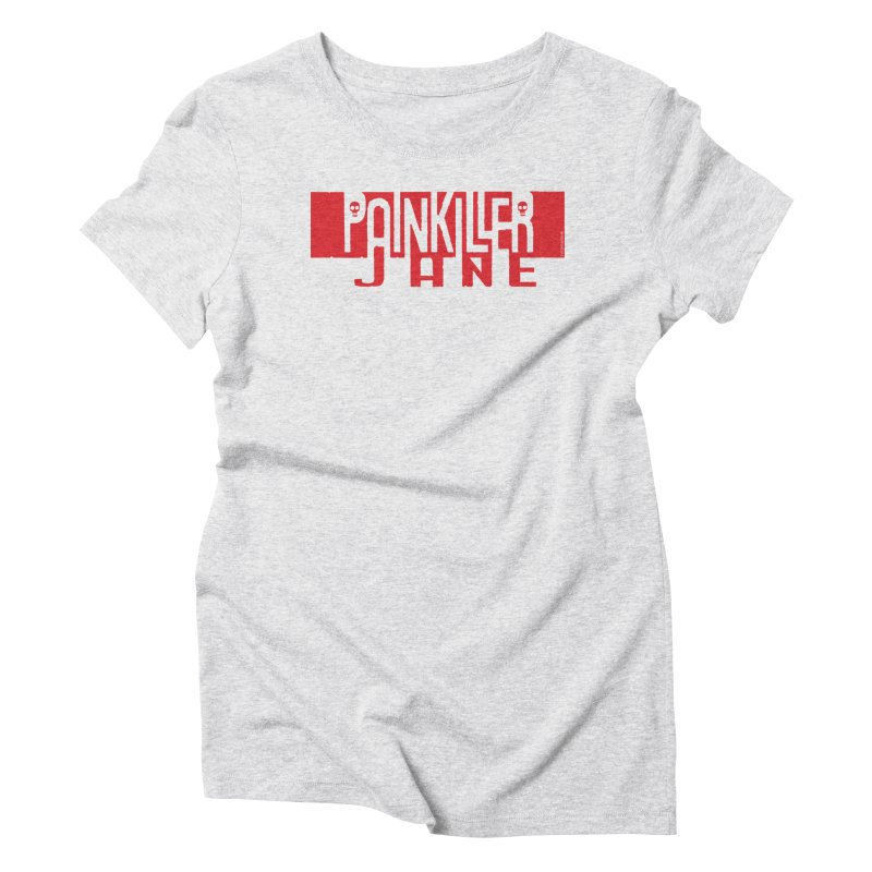 Painkiller Jane - Amanda Conner  (Red Logo) Women's Triblend T-Shirt by Paper Films