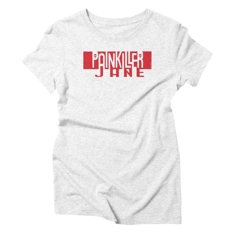 Painkiller Jane - Amanda Conner  (Red Logo)   by PaperFilms's Artist Shop
