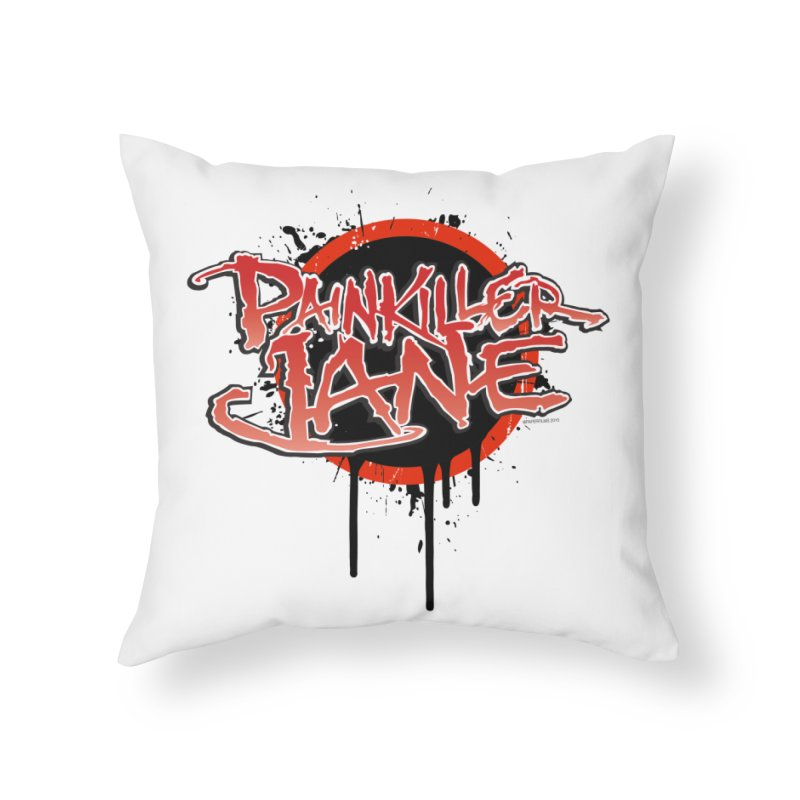 Painkiller Jane - Amanda Conner & Dave Johnson Home Throw Pillow by Paper Films
