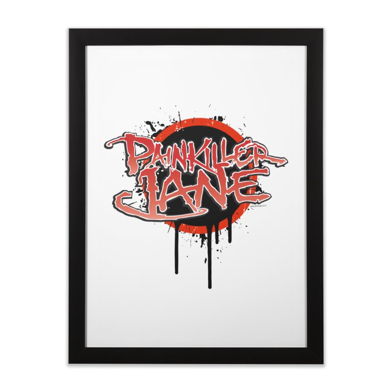 Painkiller Jane - Amanda Conner & Dave Johnson Home Framed Fine Art Print by Paper Films
