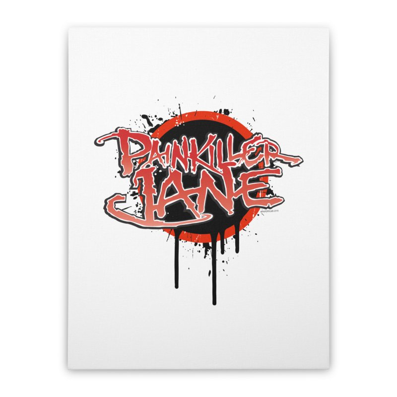Painkiller Jane - Amanda Conner & Dave Johnson Home Stretched Canvas by Paper Films
