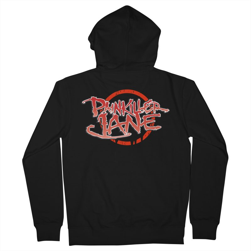 Painkiller Jane - Amanda Conner & Dave Johnson Men's French Terry Zip-Up Hoody by PaperFilms's Artist Shop