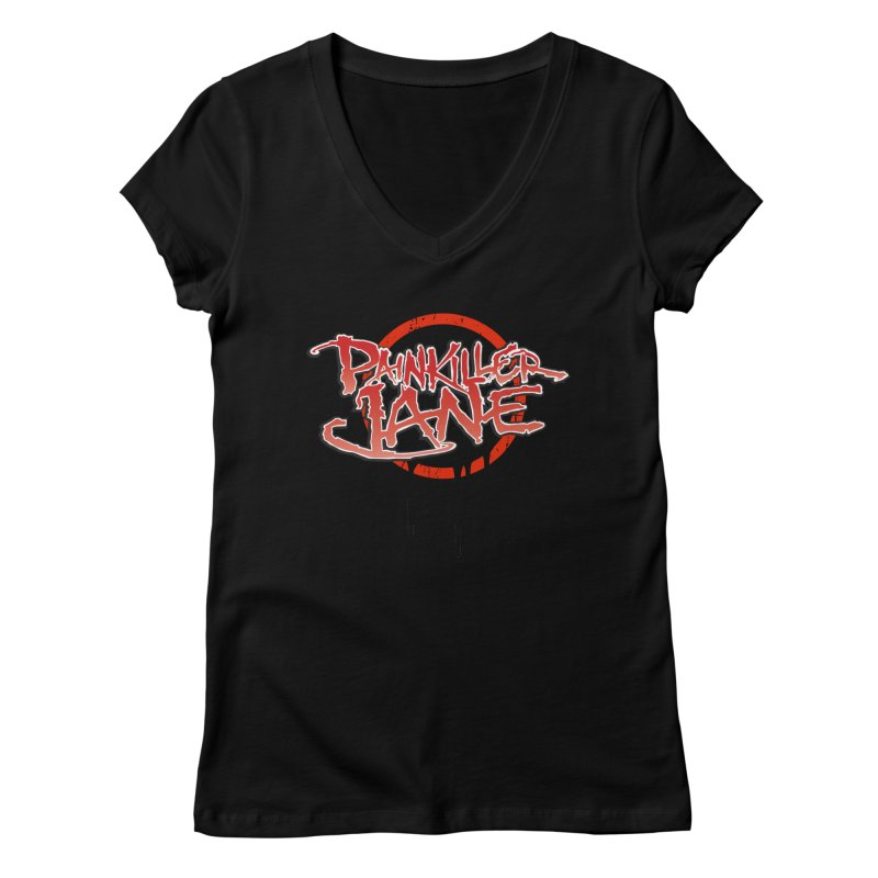 Painkiller Jane - Amanda Conner & Dave Johnson Women's V-Neck by Paper Films
