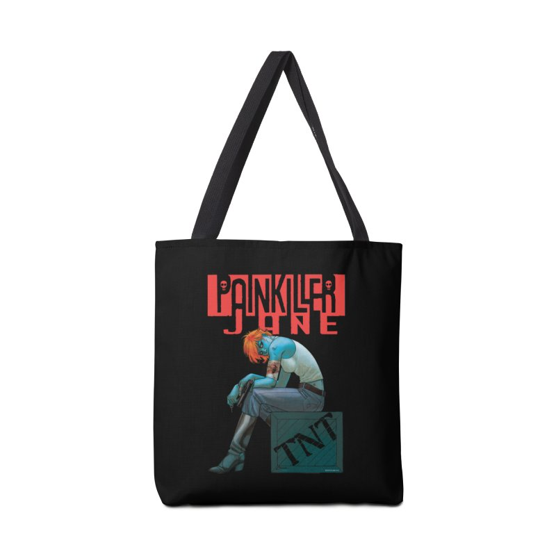 Painkiller Jane TNT - Amanda Conner Accessories Tote Bag Bag by Paper Films