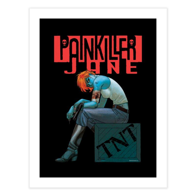 Painkiller Jane TNT - Amanda Conner Home Fine Art Print by Paper Films