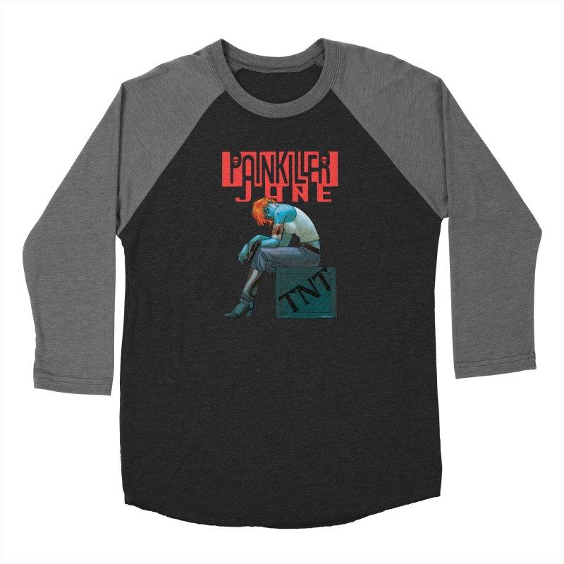 Painkiller Jane TNT - Amanda Conner Men's Baseball Triblend Longsleeve T-Shirt by Paper Films