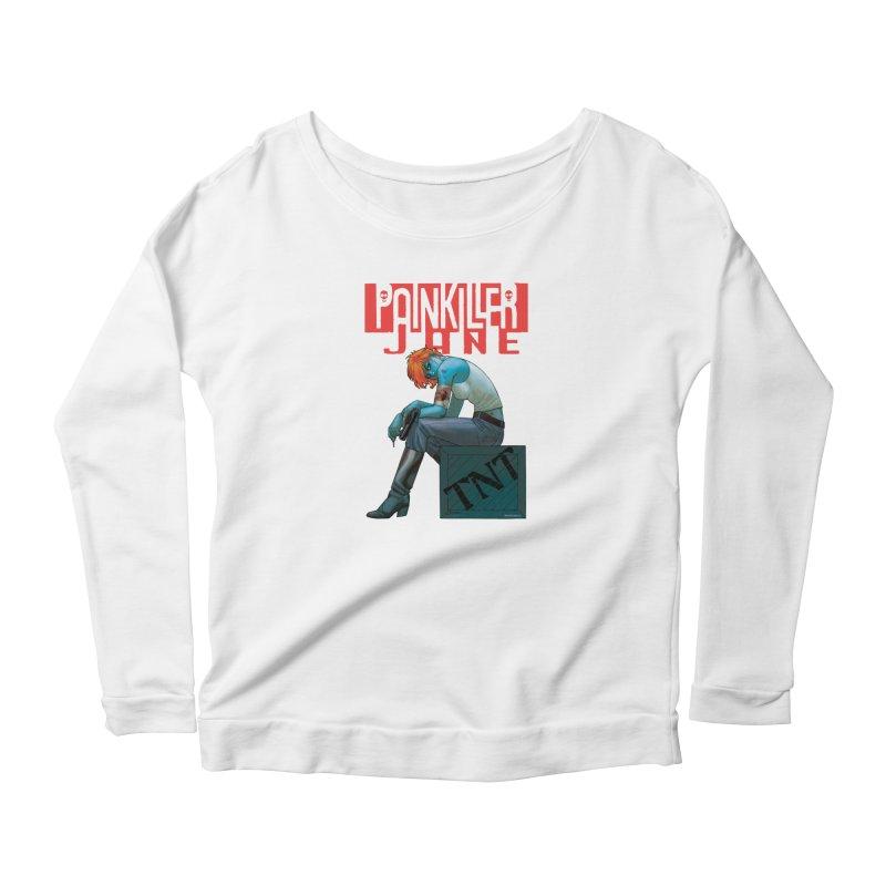 Painkiller Jane TNT - Amanda Conner Women's Longsleeve T-Shirt by PaperFilms's Artist Shop