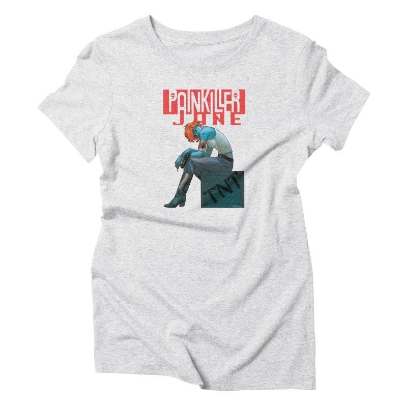 Painkiller Jane TNT - Amanda Conner Women's T-Shirt by Paper Films