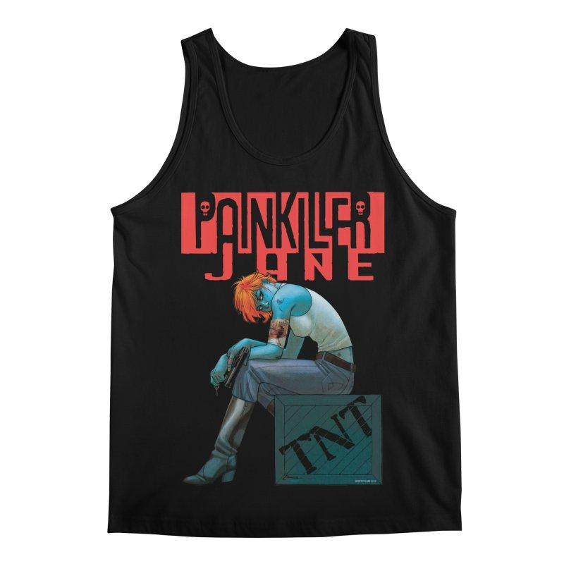 Painkiller Jane TNT - Amanda Conner Men's Regular Tank by Paper Films