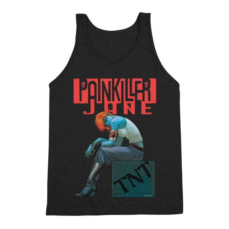 Painkiller Jane TNT - Amanda Conner Men's Triblend Tank by Paper Films
