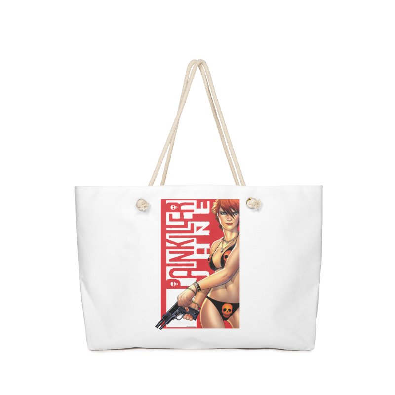 Painkiller Jane Red - Amanda Conner Accessories Bag by Paper Films