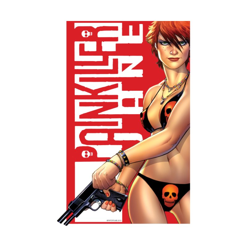 Painkiller Jane Red - Amanda Conner Home Framed Fine Art Print by Paper Films