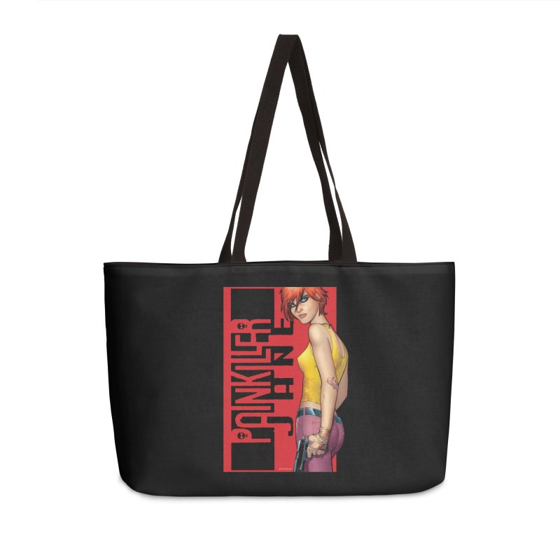 Painkiller Jane - Amanda Conner Accessories Weekender Bag Bag by Paper Films