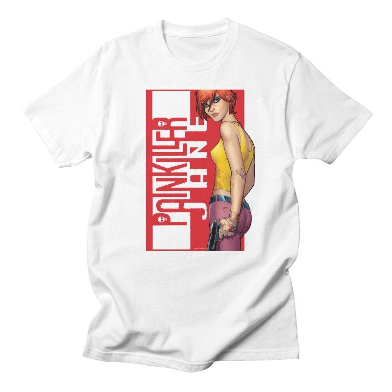 Painkiller Jane - Amanda Conner Men's T-Shirt by Paper Films