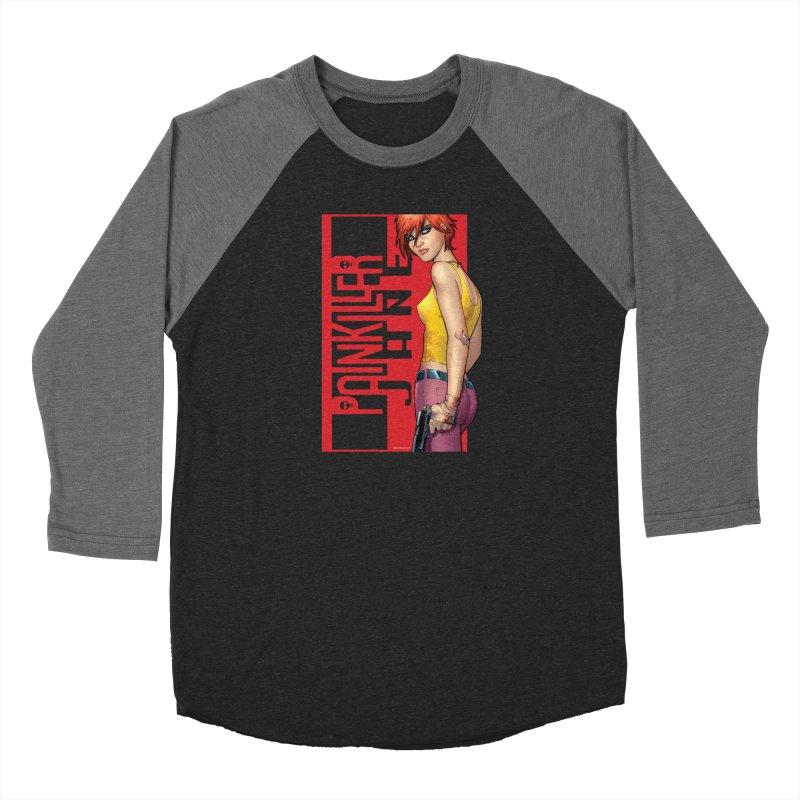 Painkiller Jane - Amanda Conner Men's Baseball Triblend Longsleeve T-Shirt by Paper Films