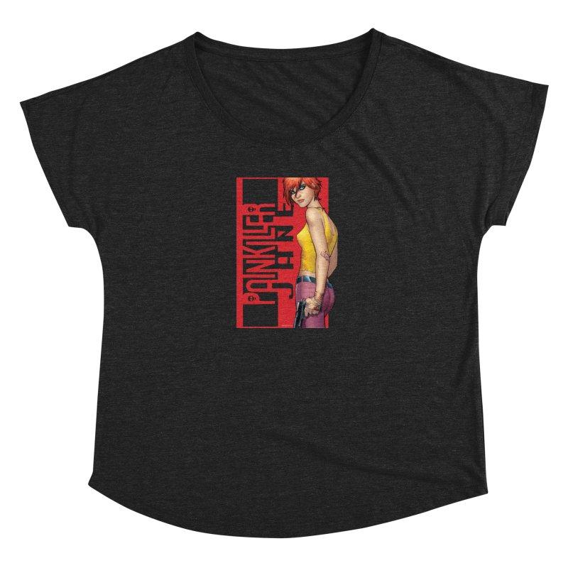 Painkiller Jane - Amanda Conner Women's Scoop Neck by PaperFilms's Artist Shop