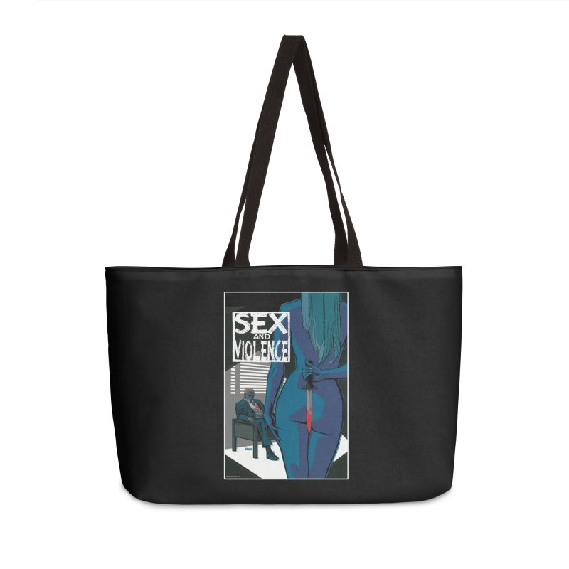 Sex & Violence - Dave Johnson Accessories Bag by Paper Films