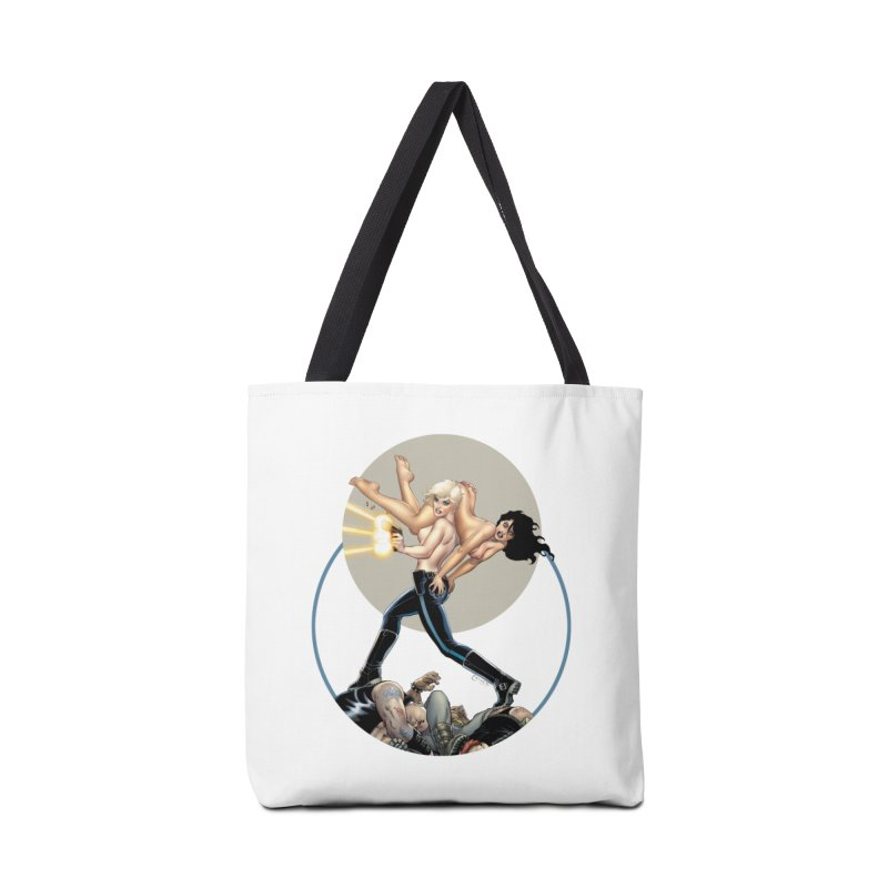 Sex & Violence - Amanda Conner Accessories Tote Bag Bag by Paper Films
