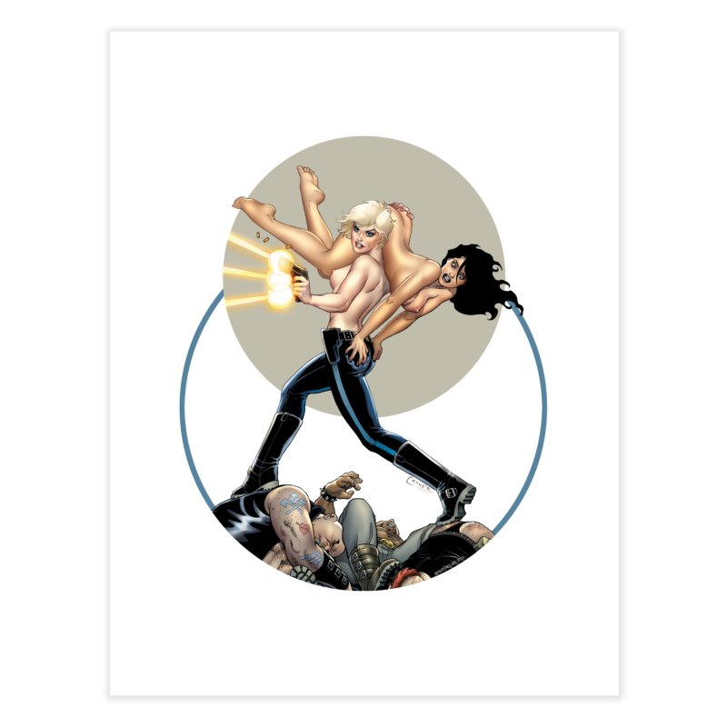Sex & Violence - Amanda Conner Home Fine Art Print by Paper Films
