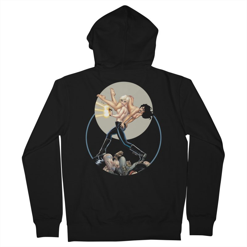 Sex & Violence - Amanda Conner Men's Zip-Up Hoody by PaperFilms's Artist Shop