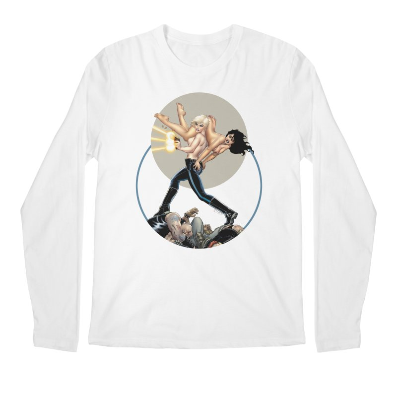 Sex & Violence - Amanda Conner Men's Regular Longsleeve T-Shirt by PaperFilms's Artist Shop