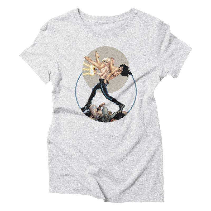 Sex & Violence - Amanda Conner Women's Triblend T-Shirt by PaperFilms's Artist Shop