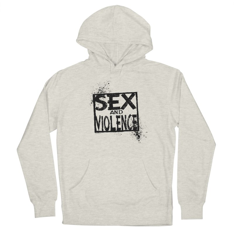 Sex & Violence - Dave Johnson Women's Pullover Hoody by Paper Films