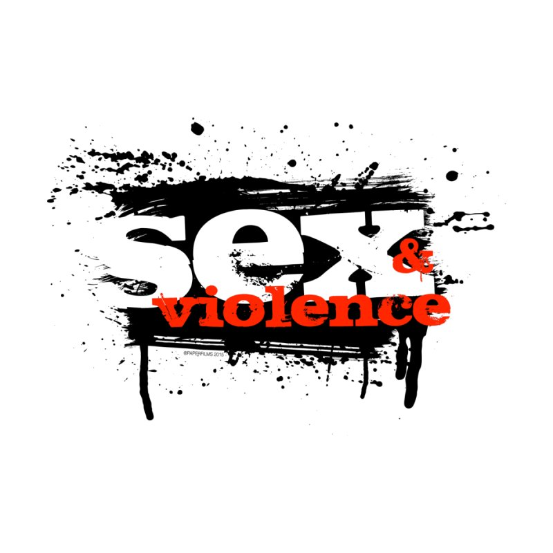 Sex & Violence - Bill Tortolini Home Throw Pillow by Paper Films