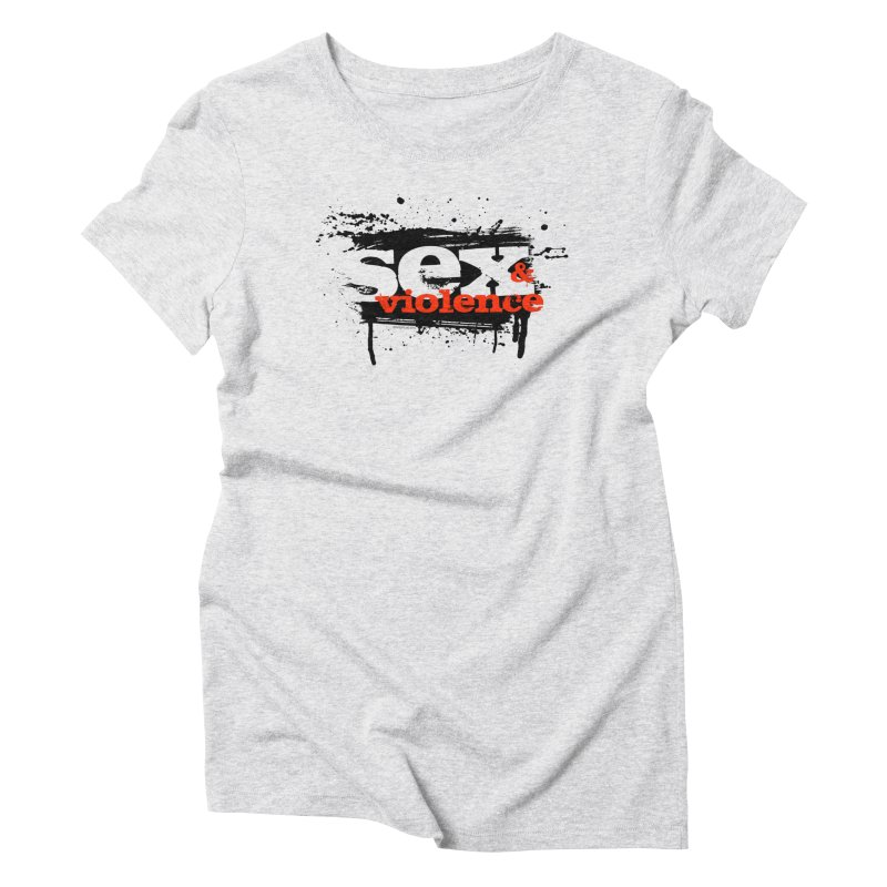 Sex & Violence - Bill Tortolini Women's Triblend T-Shirt by Paper Films