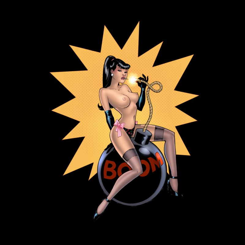 Betty Bomb - Amanda Conner Home Fine Art Print by Paper Films