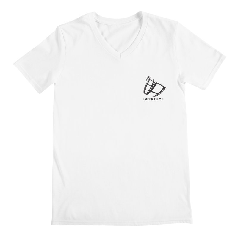 PaperFilms Logo - Bill Tortolini Men's V-Neck by PaperFilms's Artist Shop