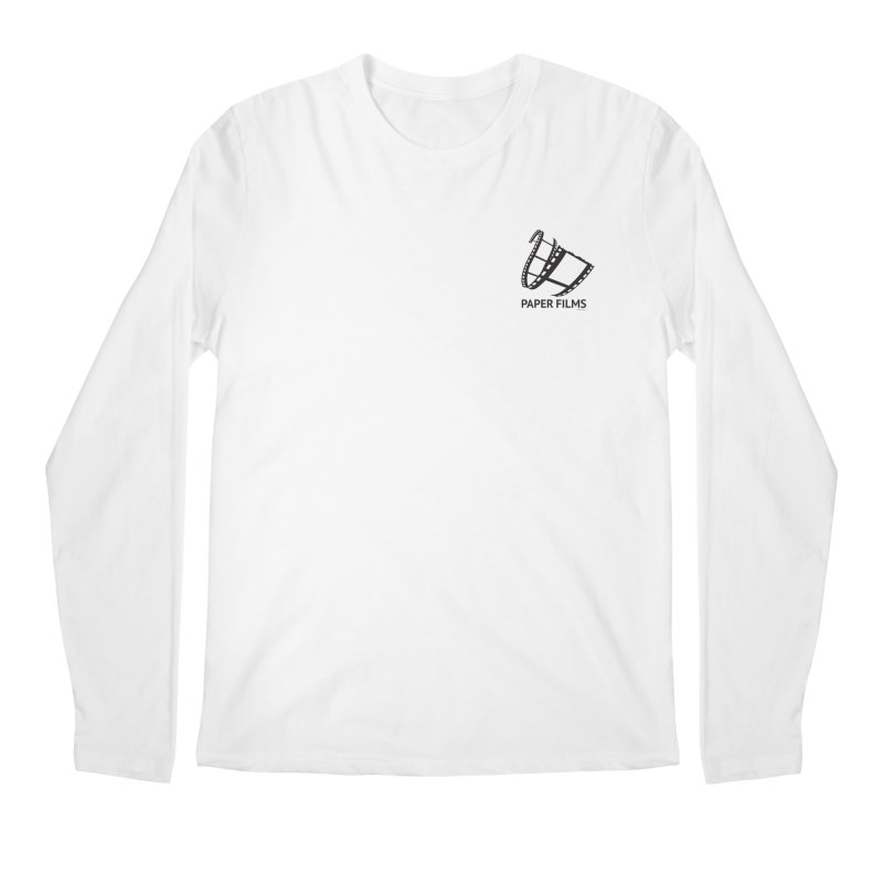 PaperFilms Logo - Bill Tortolini Men's Regular Longsleeve T-Shirt by Paper Films