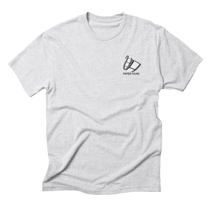 PaperFilms Logo - Bill Tortolini Men's Triblend T-Shirt by Paper Films
