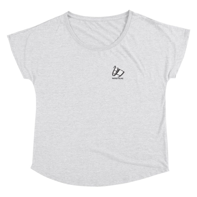 PaperFilms Logo - Bill Tortolini Women's Dolman Scoop Neck by Paper Films