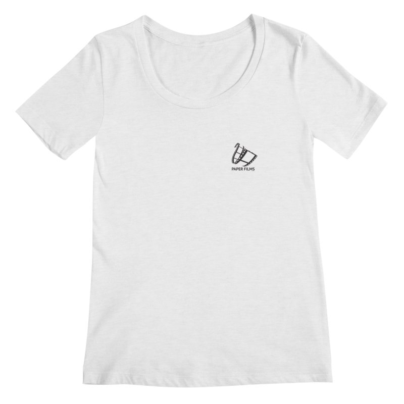 PaperFilms Logo - Bill Tortolini Women's Scoopneck by PaperFilms's Artist Shop
