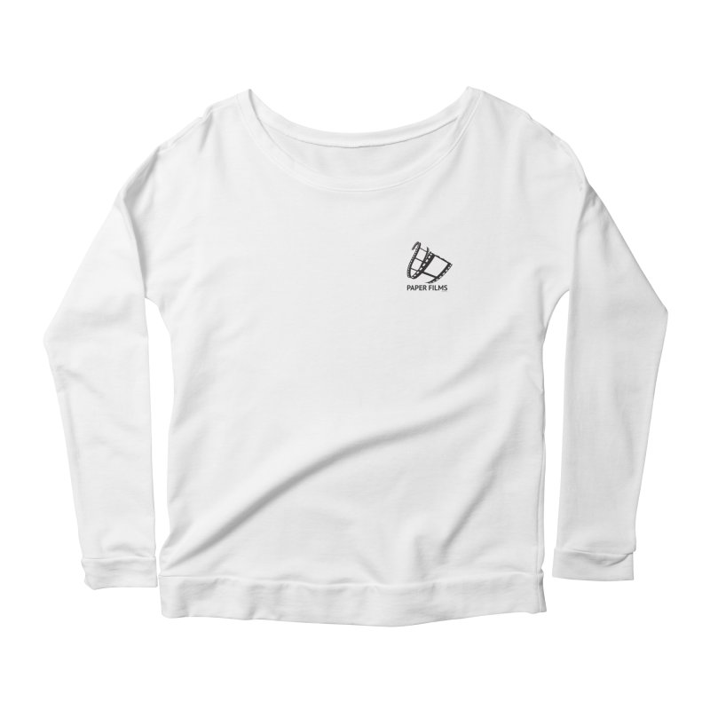 PaperFilms Logo - Bill Tortolini Women's Scoop Neck Longsleeve T-Shirt by Paper Films