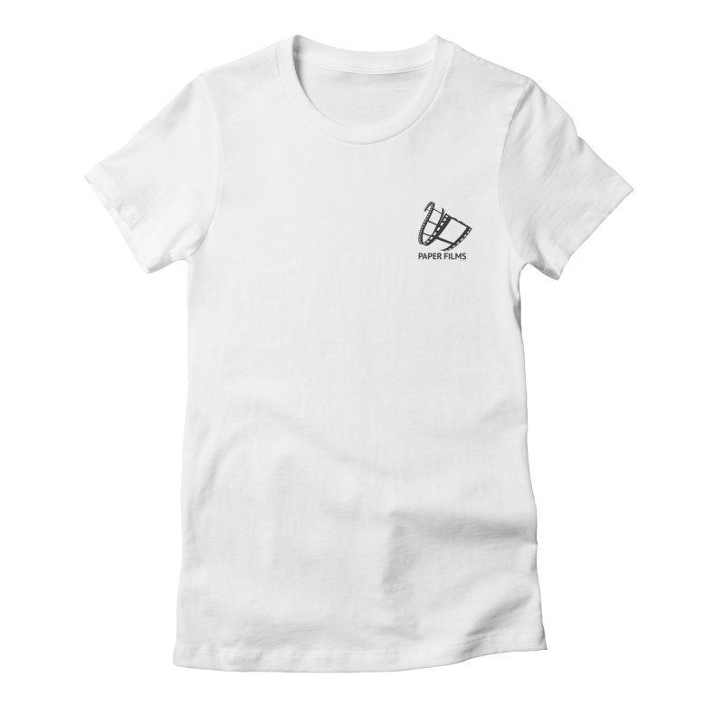 PaperFilms Logo - Bill Tortolini Women's Fitted T-Shirt by PaperFilms's Artist Shop
