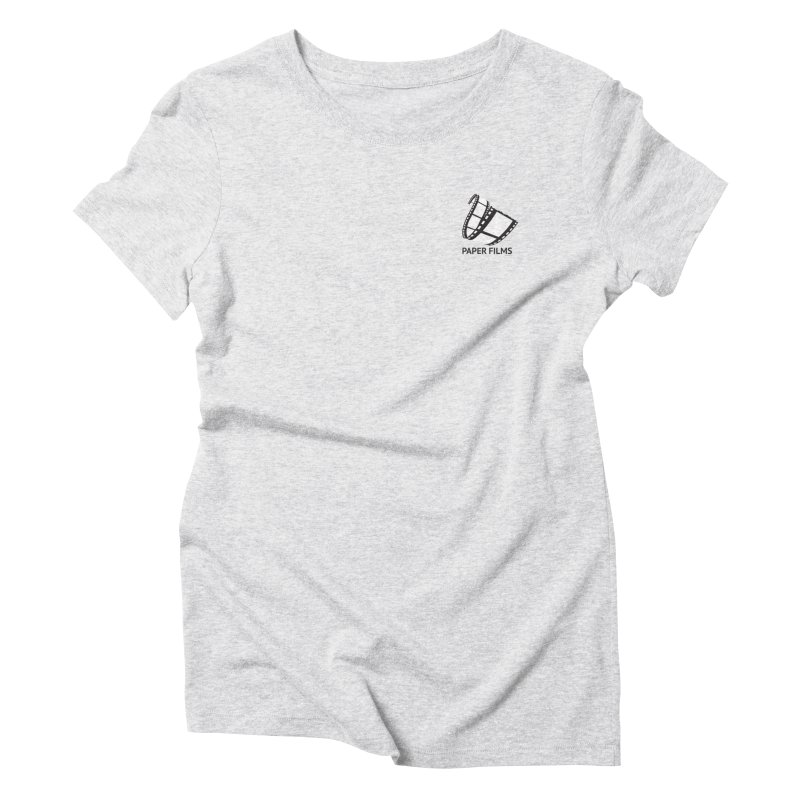 PaperFilms Logo - Bill Tortolini Women's Triblend T-Shirt by Paper Films