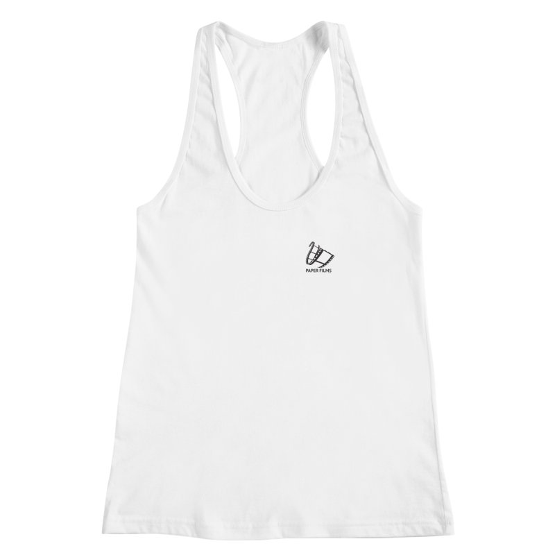 PaperFilms Logo - Bill Tortolini Women's Racerback Tank by PaperFilms's Artist Shop
