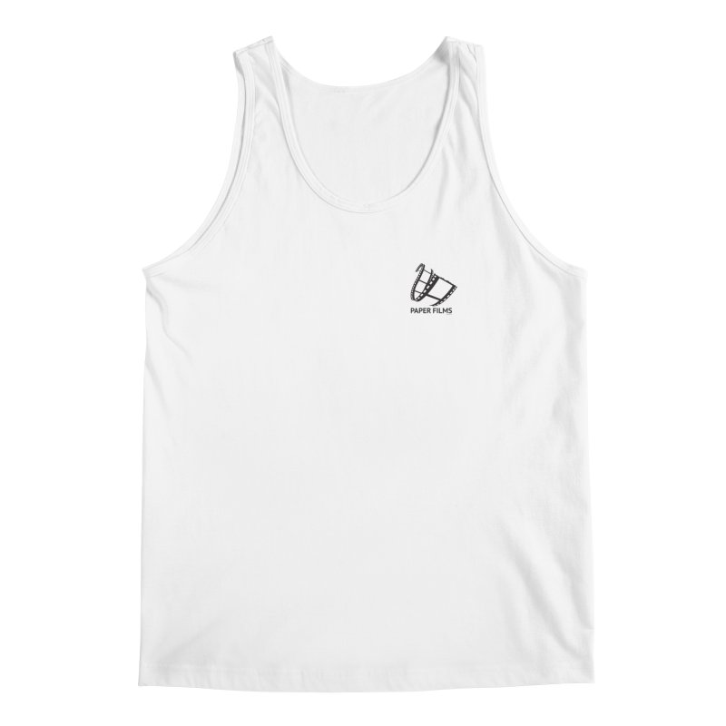 PaperFilms Logo - Bill Tortolini Men's Regular Tank by Paper Films