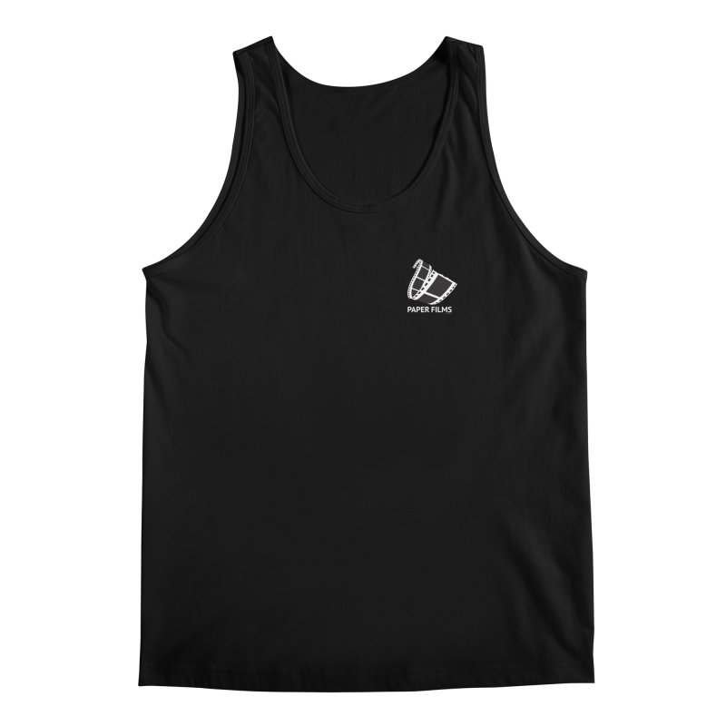 PaperFilms Black Logo - Bill Tortolini Men's Regular Tank by Paper Films