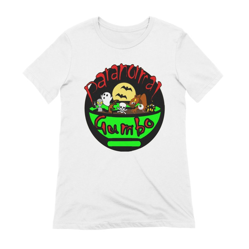 Paranormal Gumbo Original Logo Products Women's Extra Soft T-Shirt by Paranormal Gumbo