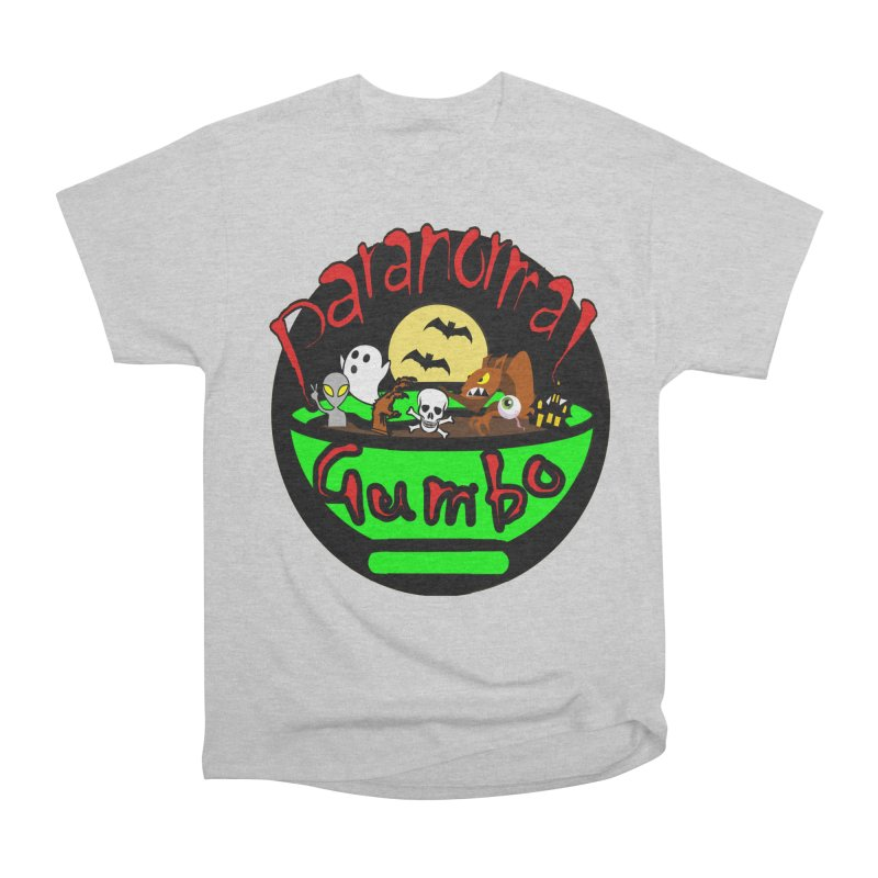 Paranormal Gumbo Original Logo Products Men's T-Shirt by Paranormal Gumbo