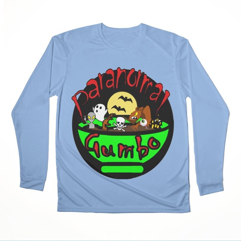 Paranormal Gumbo Original Logo Products Men's Longsleeve T-Shirt by Paranormal Gumbo