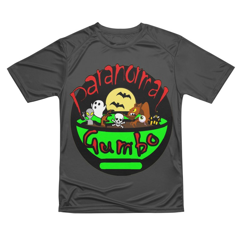 Paranormal Gumbo Original Logo Products Women's Performance Unisex T-Shirt by Paranormal Gumbo