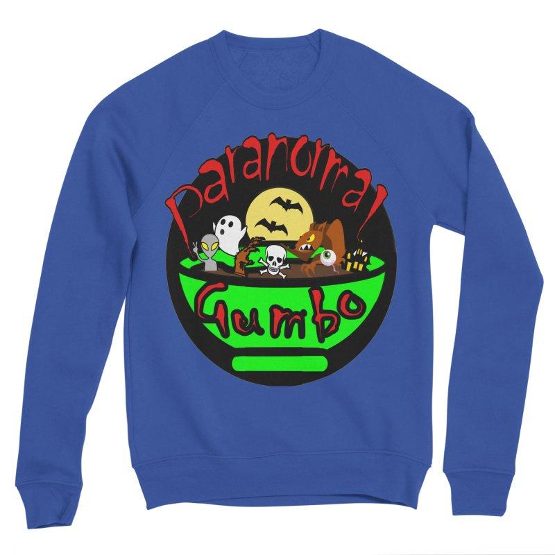 Paranormal Gumbo Original Logo Products Women's Sponge Fleece Sweatshirt by Paranormal Gumbo